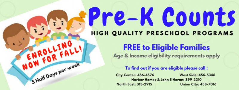 Pre-k counts header (18)