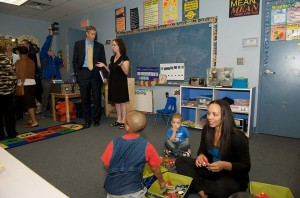 United States Secretary of Education visits Early Connections