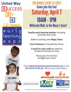 Success By 6 12th Annual Early Learning Expo-1