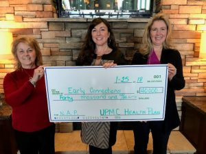 UPMC-NAP donation for curriculum check presentation Jan 2018