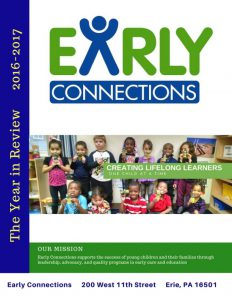 Front cover - Early Connections Annual Report 2016-2017